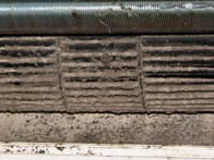 Dirty air con filter | LCM Air Conditioning