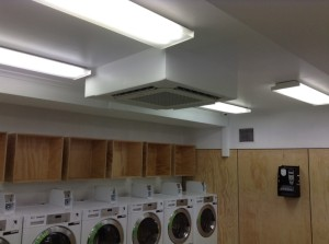 Green Laundry ceiling cassettes