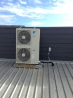 Rooftop air con setup | LCM Air Conditioning