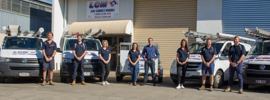 LCM Air Conditioning Team   LCM Air Conditioning