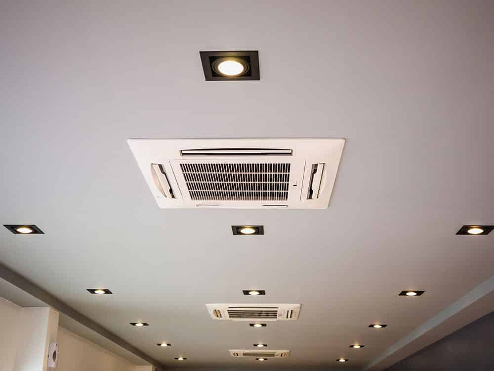 Ducted air conditioning system | LCM Air Conditioning